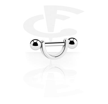 Helix / Tragus, Helix Shield, Surgical Steel 316L