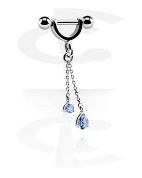 Piercing hélice avec pendentif