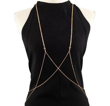 Jiná bižuterie, Body Chain, Plated Steel