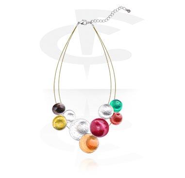 Naszyjniki, Fashion Necklace, Alloy Steel