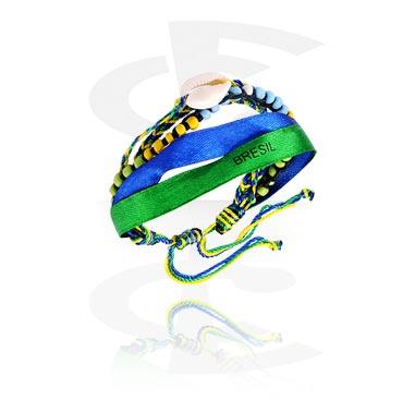 "Bracelet ""Brazil"""