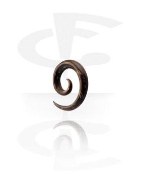 Accessoires pour étirer, Spirale, Coque de noix de coco