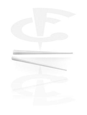 Barre supplétive pour boucles d'oreilles en os et corne