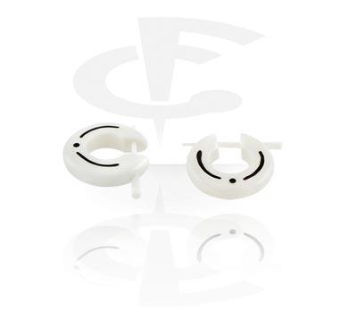 Bone et Horn Boucles d'oreilles (vendu par paire)