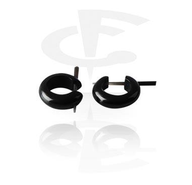Earrings, Studs & Shields, Earrings, Horn