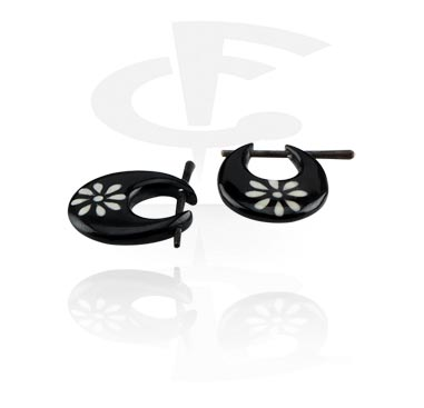Horn Earrings (Sold by pair)