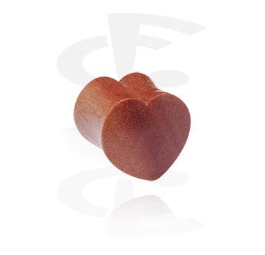 Hartvormige plug