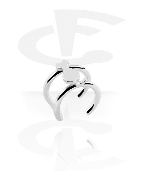 Feikkikorut, Ear cuff, Kirurginteräs 316L