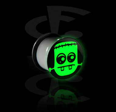 """Glow in the Dark"" Plug"