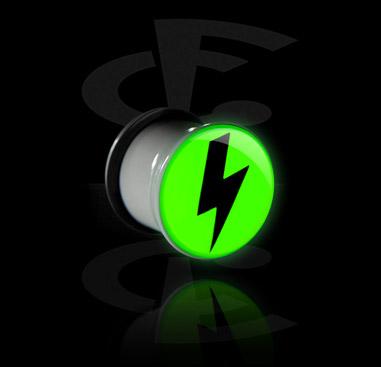 """""""Glow in the Dark"""" Plug"""