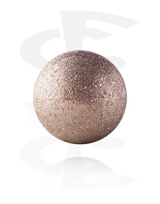 Palloja, nappeja ynnä muuta, Ball, Ruusukultapinnoitteinen kirurginteräs 316L