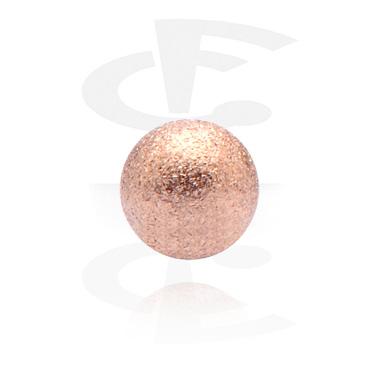 Kulki i inne zakończenia, Ball, Rose Gold Plated Steel