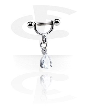 Barbells, Intimate Shield with Charm, Surgical Steel 316L