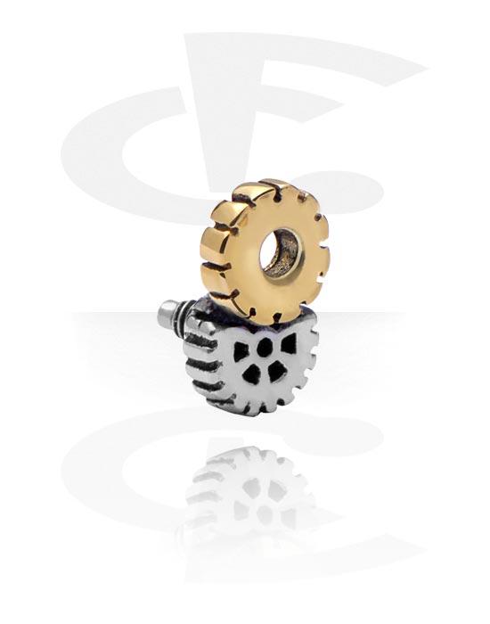 Kulki, igły i nie tylko, Attachment for 1.6mm Internally Threaded Pins, Stal chirurgiczna 316L