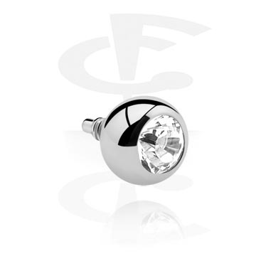Jeweled Ball de Internally Threaded Pin