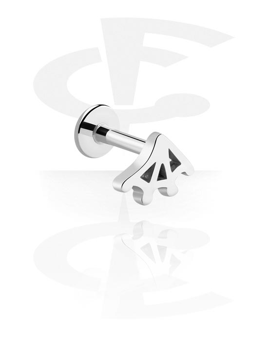 Labrets, Internally Threaded Labret, Surgical Steel 316L