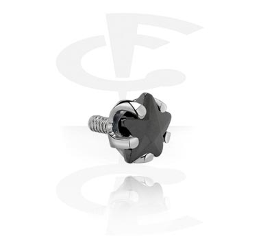Balls & Replacement Ends, Accessory for Internally Threaded Bars, Surgical Steel 316L