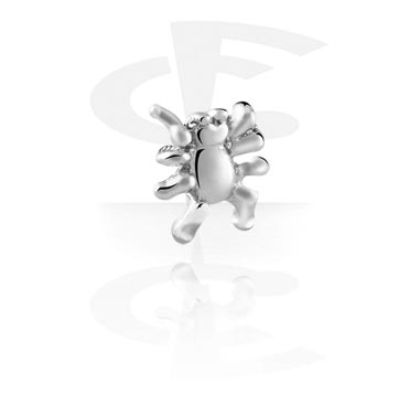 Balls & Replacement Ends, Attachment for 1.2mm Internally Threaded Pins, Surgical Steel 316L