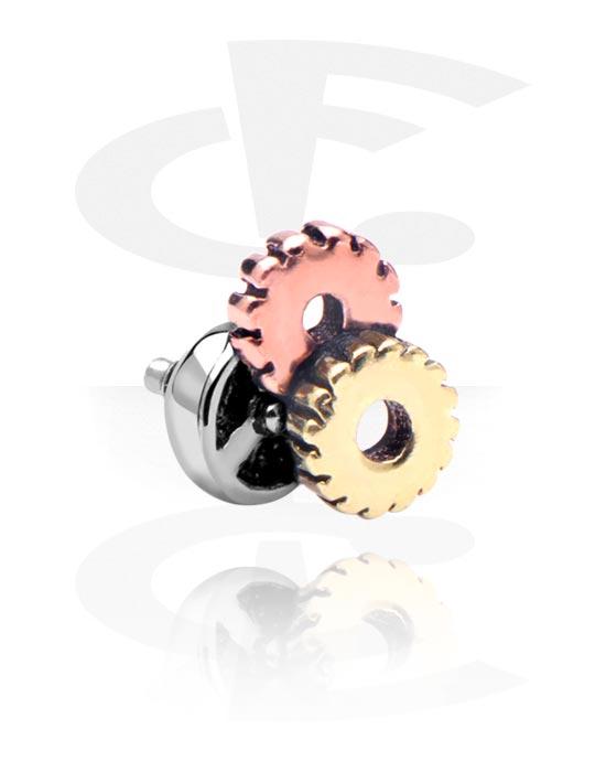 Kulki, igły i nie tylko, Attachment for 1.2mm Internally Threaded Pins, Stal chirurgiczna 316L