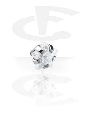 Boules et Accessoires, Attachment pour Internally Threaded Pins, Acier chirurgical 316L