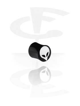 Plain y Inlaid Plug