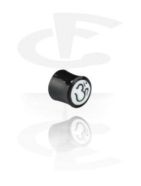Inlaid plug