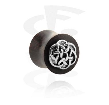 Double Flared Plug avec accessoire en métal