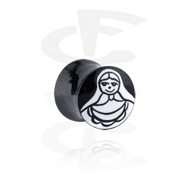 Handpainted Flared Plug
