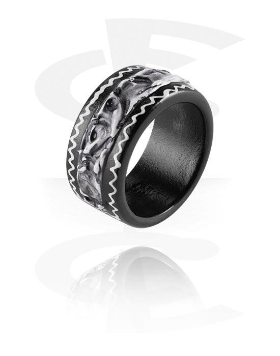 Prsteni, Ring, Svjetlo (crocodile) drvo
