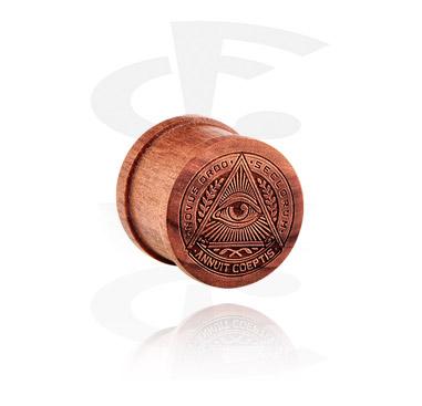 Plug ribeteado de madera