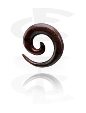 Espiral para alargar de madeira