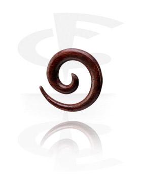 Spirale dilatante di legno