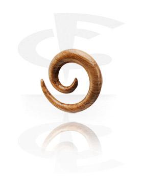 Dřevěný spirálový roztahovák