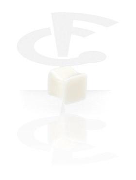 Tunnelit & plugit, Square Plug, Bone Powder