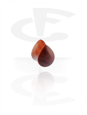 Droppformad Flared Plugg (Rosewood)