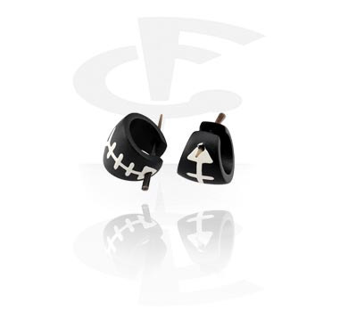 Bemalte Ohrringe