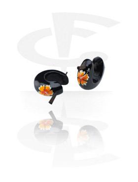 Painted Tribal Earrings (Sold by pair)