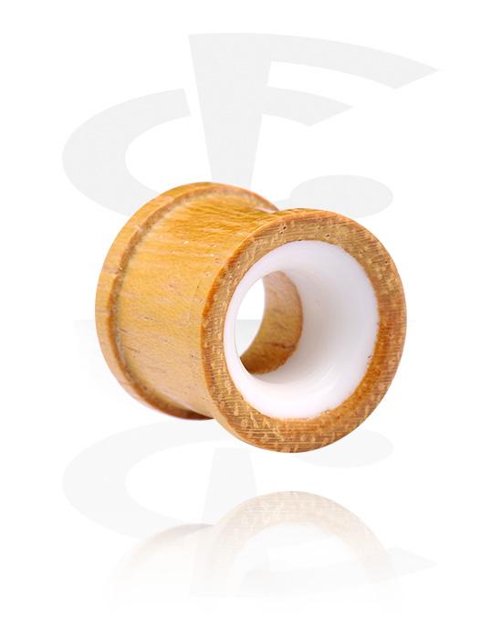 Tunele & plugi, Ribbed Plug, Drewno chlebowca