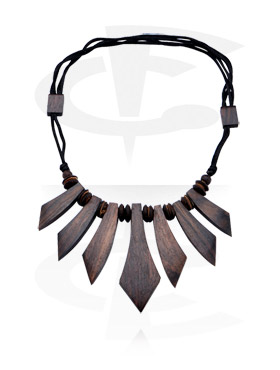 Kaulakorut, Necklace, Wood