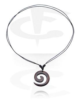 Kožnata ogrlica s privjeskom