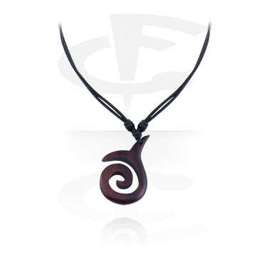 Pendant with Leather String