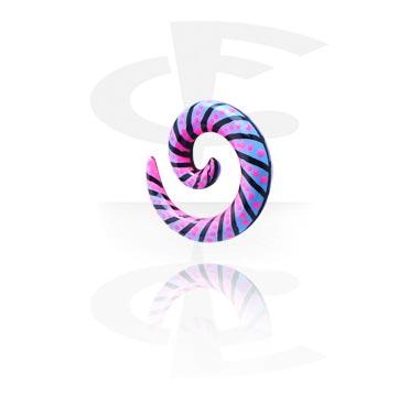 Handbeschilderde Spiraal