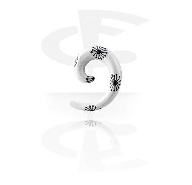 Spirale peinte à la main