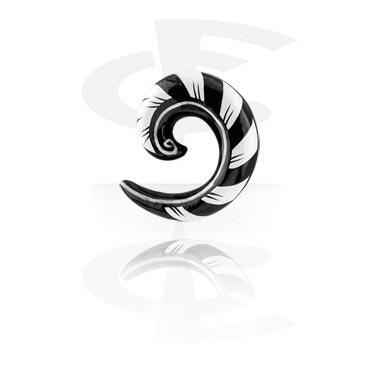 Spirale dipinta a mano