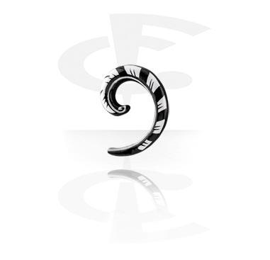 Espiral pintada a mano