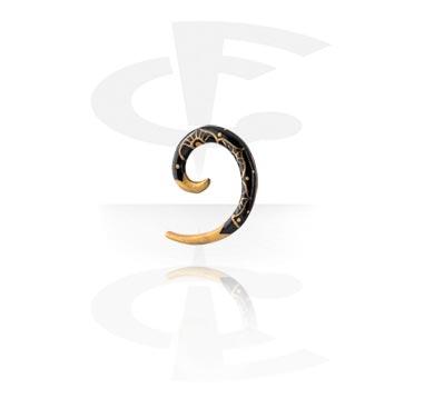 Handpainted Spiral