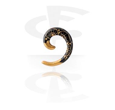 Handpainted Spiral Stretcher