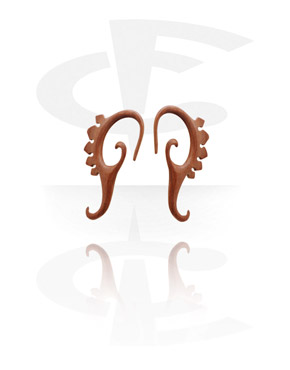 Accesorios para dilatar, Claw Earring, Rosewood