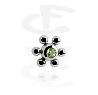 Jeweled Flower Ball