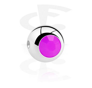 Boule pour ball closure ring